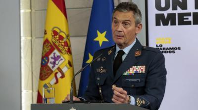 El jefe del Estado Mayor de la Defensa dimite por haberse vacunado junto a otros altos mandos militares
