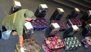 Encuentran casi 400 kilos de cocaína en embajada de Rusia en Argentina