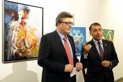 La Sala L de La Recova alberga una muestra pictórica sobre el Carnaval de Santa Cruz de Tenerife