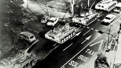 Los tanques del 23F en València: 40 años después siguen las incógnitas sobre la trama golpista