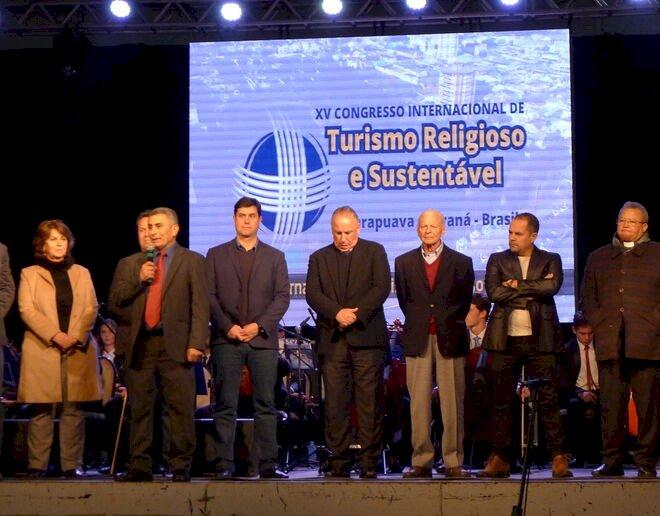 Imagen del  XV Congreso Internacional de Turismo Religioso y Sosteniblese ha celebrado en la ciudad brasileña de Guarapuava, en 2019