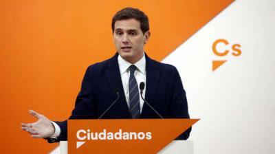 Ciudadanos critica los '100 pactos de la infamia' del PSOE con nacionalistas en seis comunidades autónomas