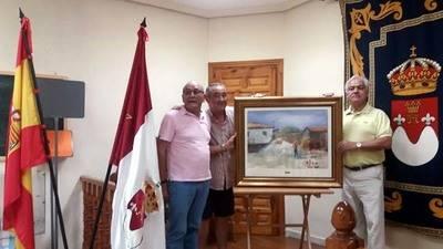 Dos cuadros del pintor Pablo Reviriego para el Ayuntamiento de Santa María del Berrocal