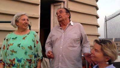 Homenaje a Isabelle Hirschi y al Dr. Larvre en el Torreón de Atocha en Madrid