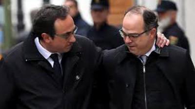 El juez envía a prisión al candidato a president, Jordi Turull, y a Forcadell, Romeva, Bassa y Rull