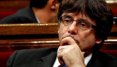 Carles Puigdemont, el cesado presidente regional de Cataluña