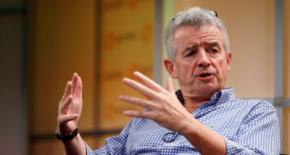 El presidente de la aerolínea Ryanair, Michael O'Leary.
