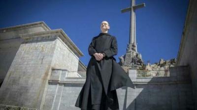 Santiago Cante5ra, prior de la Abadía del Valle de los Caídos (Foto. A. Ferreras)