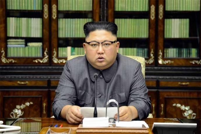 Kim Jong-un líder de Corea del Norte