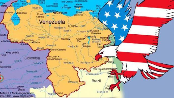 ¡No a la intervención militar de Estados Unidos en Venezuela!