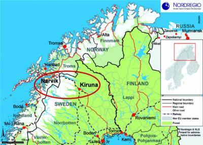 Entre Kiruna y Narvik: El Norte del Norte