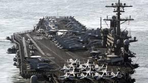 Norcorea amenaza con hundir portaaviones de EEUU si entra a sus aguas