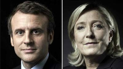 Macron y Le Pen se disputarán la segunda vuelta presidencial de Francia