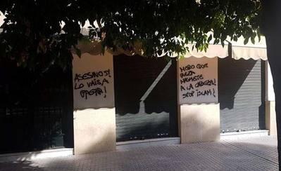 Pintadas islamófobas tras los atentados de Cataluña