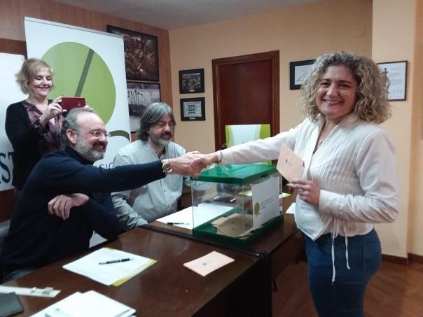 María José López Díaz, elegida presidenta del Colegio de Periodistas de Andalucía en Almería