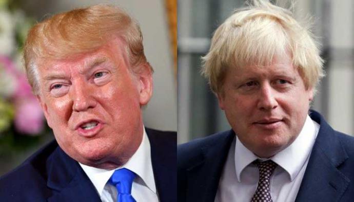 """Donald Trump y Boris Johnson podrían revivir la histórica """"relación especial"""" entre Estados Unidos y el Reino Unido."""