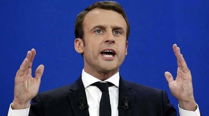 Popularidad de Emmanuel Macron cae en menos de un mes