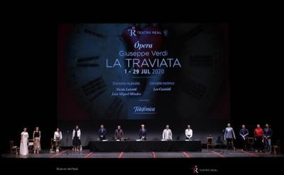 El Teatro Real abre sus puertas al público el 1 de julio con un estricto protocolo de seguridad sanitaria