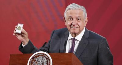El presidente de México Andrés Manuel López Obrador (AMLO)