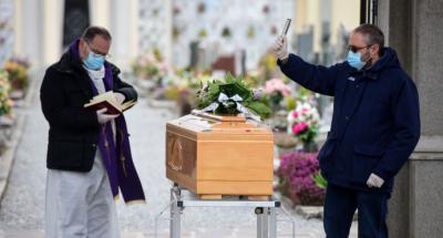 Italia supera los 6.000 muertos por coronavirus pero la cifra cae por segundo día consecutivo