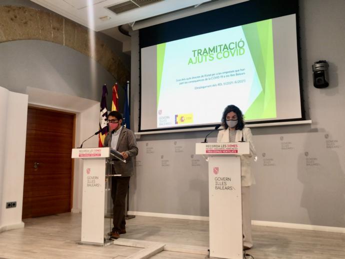 Iago Negueruela y Rosario Sánchez.