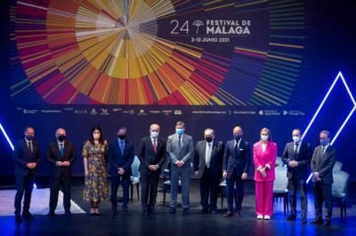 Festival de Málaga presenta los contenidos de su 24 edición, del 3 al 13 de junio de 2021