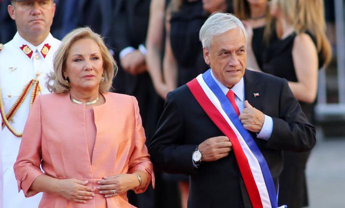 Cecilia Morel, esposa de Sebastían Piñera