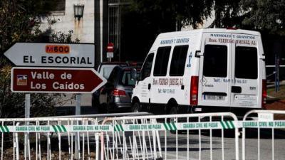 La Guardia Civil protege por amenazas fascistas a la empresa de mármoles que participará en la exhumación de Franco