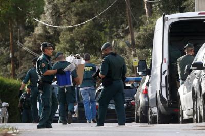 La Guardia Civil desarticula una red terrorista catalana dispuesta a atentar