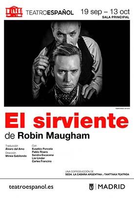 """""""El sirviente"""" de Robin Maugham, thriller psicológico en el Teatro Español"""