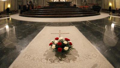 Tumba de Franjcisco Franco en El Valle de Los Caídos