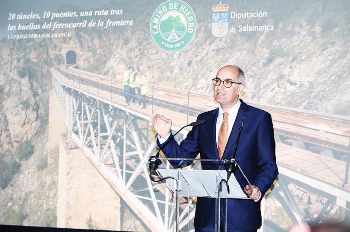 La Diputación de Salamanca presenta su nuevo producto turístico el 'Camino de hierro' en Madrid