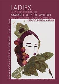 """Amparo Ruiz de Ayllón expone """"Ladies"""" en el Espacio Ronda de Madrid"""