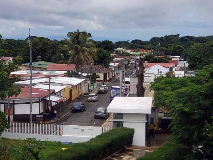 En San Marcos, 45 km al sur de Managua, celebraron las fiestas patronales sin tomar medidas de protección.