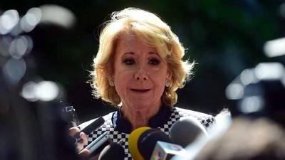 Esperanza Aguirre dimite por la corrupción que marca el PP de Rajoy