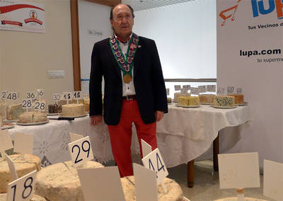 El queso Picos de Europa de Posada de Valdeón se subastó en 475 euros.