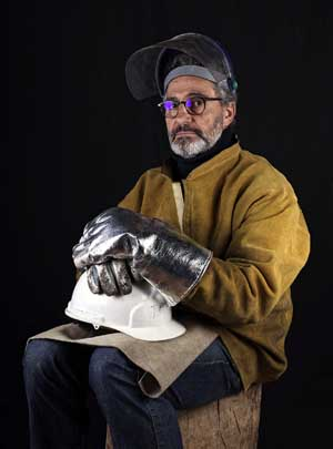 Paco Sáinz, escultor poético, narrativo y crítico, prepara exposición para Andalucía