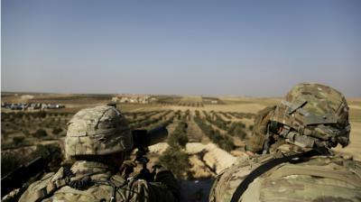 Soldados sirios reemplazarán a soldados de EEUU en Siria