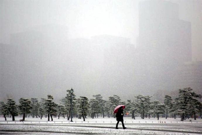 Tokio registra su temperatura más baja en 48 años