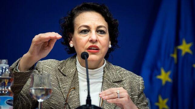 La ministra de Trabajo, Migraciones y la Seguridad Social, Magdalena Valerio.