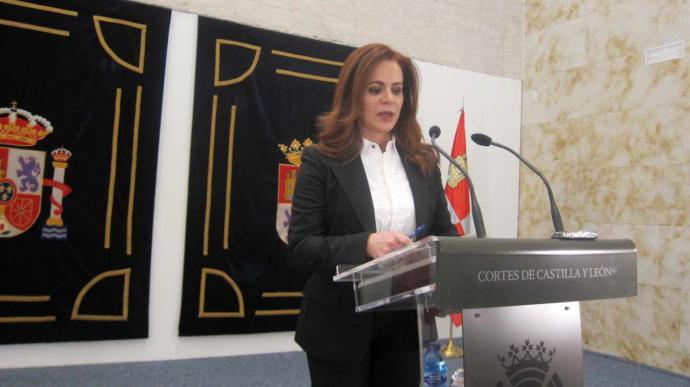 La presidenta de las Cortes Castilla y León deja su cargo decepcionada con el PP