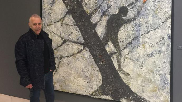 """Alexandro: Exposición """"lume"""" a pintura como naturaleza"""""""