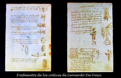 Exposición: 'El ingenio al servicio del poder. Los códices de Leonardo da Vinci en la corte de los Austrias'