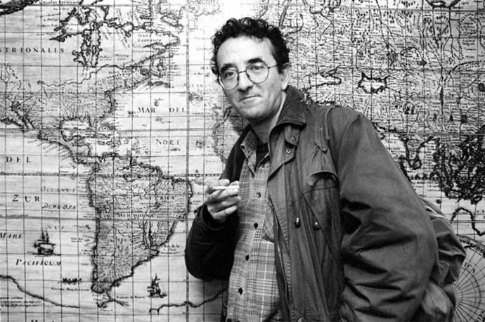 El escritor  chileno Roberto Bolaño en una imagen de archivo