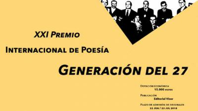 Para los certámenes internacionales de poesía en castellano 'Generación del 27' y 'Emilio Prados'