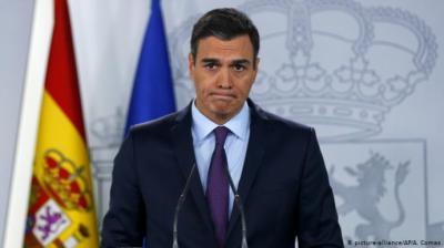 Pedro Sánchez (Imagen de Deutsche Welle)