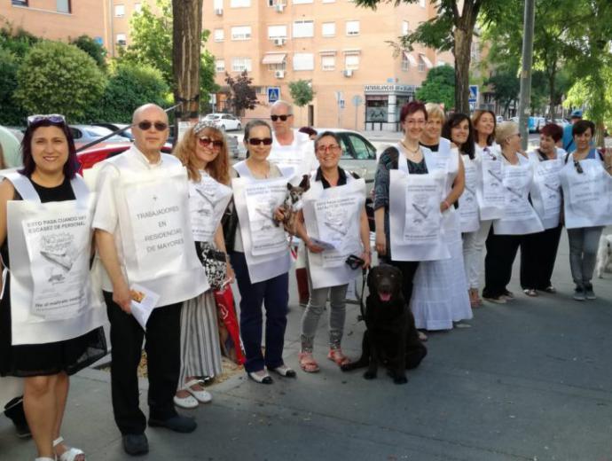 (Imagen de Chalecos blancos Leganés)