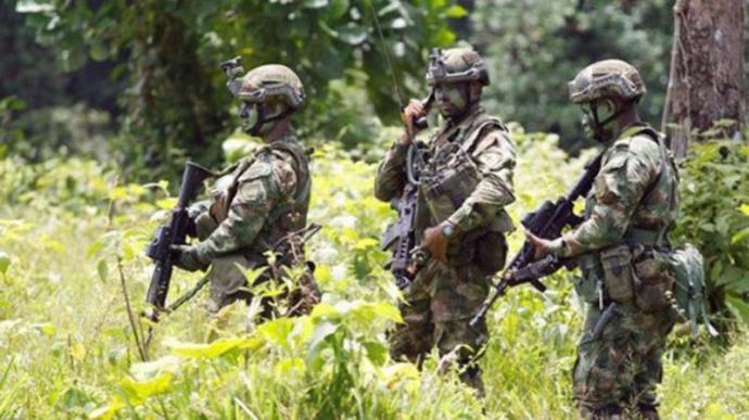 (Militares colombianos - imagen referencial)