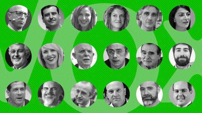 Quién es quién en las listas de Vox: Abascal se rodea de fieles, antiguos cargos del PP y militares franquistas