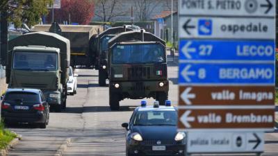 La DGT italiana prevé aumentar las sanciones a quienes incumplan la cuarentena